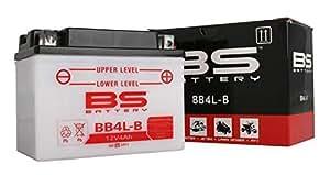 BS battery 310557bb10l de B2Moto Batterie avec acide Pack, noir