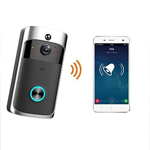 Interfono per campanello video intelligente wireless - telecamera per campanello wifi con sensore di movimento e visione notturna a infrarossi