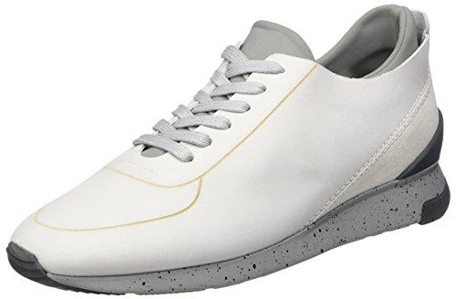 H.D. Hudson Mfg Co. Sime Nubuck 45, chaussons d'intérieur homme Weiß (white)