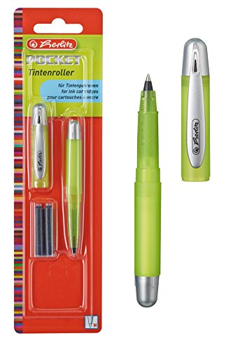 Herlitz Tintenroller 'Pocket' / Farbe: gelb
