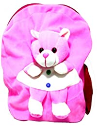 Art-N-Soul Teddy Soft Cartoon Toy Cute Kids Plush Backpack/ Birthday Return Gift/ School Bag/ Travelling Carry...