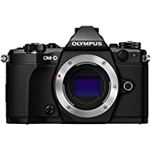 "Olympus OM-D E-M5 Mark II - Cámara Evil de 16.1 MP (Pantalla táctil 3"", estabilizador óptico, grabación de vídeo Full HD), Color Negro"