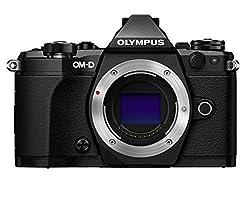 Olympus OM-D E-M5 Mark II Micro Four Thirds Systemkamera, 16.1 Megapixel, 5-Achsen Bildstabilisator, elektronischer Sucher, schwarz