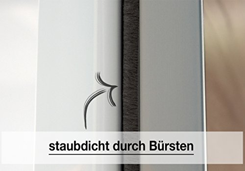 Express Möbel Schwebetürenschrank 2-türig mit Weißglas, Weiß-Polarweiß, BxHxT 150x216x68 cm, Art Nr. 47330-210