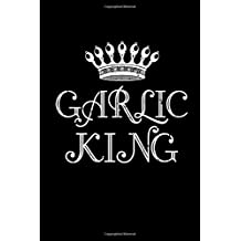 Garlic King: This is a blank, lined journal that makes a perfect Spice gift for men. It's 6x9 with 120 pages, a convenient size to write things in.