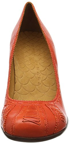 Chie Mihara Repeat, Chaussures à talons - Avant du pieds couvert femme Rouge - Rot (taichi carmin)