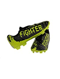 HAWKISH BRAND NEW FIGHTER FOOTBALL STUD SHOE WITH P.U. UPPER AND P.V.C. SOLE (SIZE OF MEN 9)