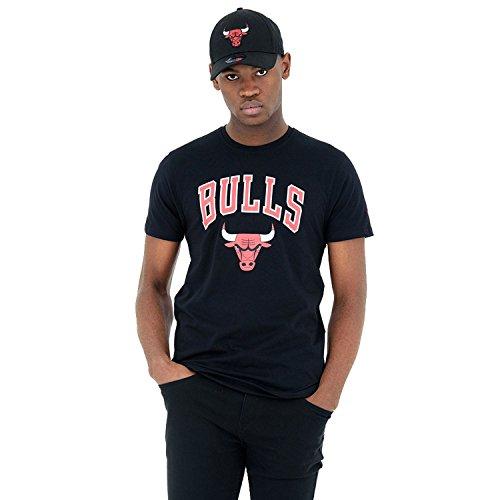 Usc-basketball-shirt (New Era - NBA Chicago Bulls Team Logo T-Shirt - black Größe XS)