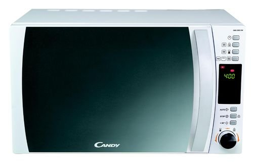 Candy CMG 25 DCW - Microondas, 900 W con grill, 1000 W, 25 l, display digital, color blanco