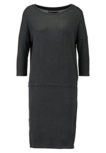 ONLY MAYE Damen Strickkleid Kleid dunkelgrau-meliert Gr L