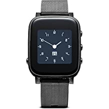 Cellularline Easy Smart HR - Universale Bluetooth Black sport watch - Sport Watches (Black, Splash proof, Bluetooth, Fitness, 12h/24h, LCD)