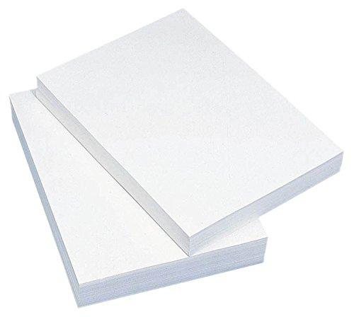 SAD SpassAmDrucken Kopierpapier 4000 Blatt 80g/m² - Din-A6 - Weiß Ideal für Handzettel/Belege/Rezepte (Rezept-papier)