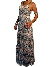 Funky Maxi Dress Chain Straps 2 Designs Size 8 - 14