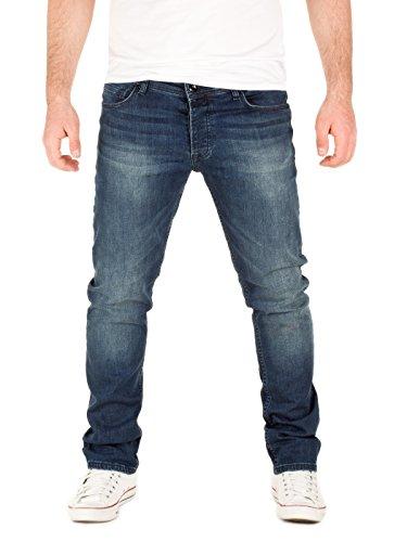 Yazubi Herren Jeans Juan Slim, Blau (Insignia Blue 194028), W34/L32