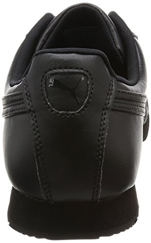 Puma Roma Basic, Sneakers Basses Mixte Enfant Noir (Black-black 17)