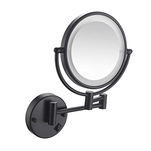YAOLANM Espejo Maquillaje Iluminado LED Montaje Pared