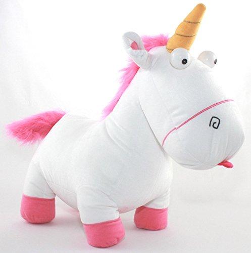 MINIONS - Peluche unicorno Agnes, 60 cm, lunghezza XXL, di Cattivissimo me