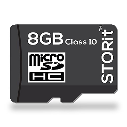 Storit Turbo Ultra MicroSDHC 8GB Class 10 Memory Card  available at amazon for Rs.441