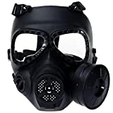 Tactical Airsoft Game Face Seguridad Protección Máscara Guardia Toxic CS Gas Mask