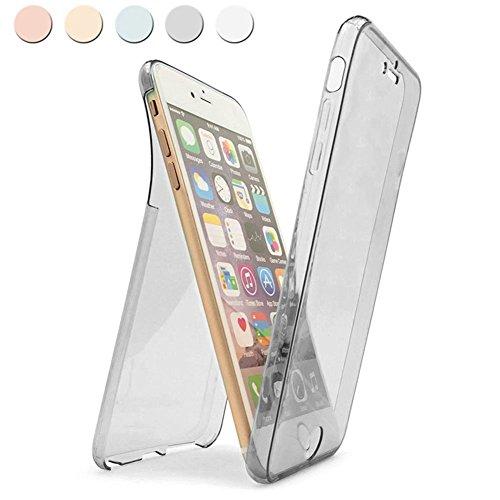 Coque iPhone 7 Plus,Étui iPhone 7 Plus,iPhone 7 Plus Case,ikasus® Coque iPhone 7 Plus Étui de protection complet avant + arrière 360 degrés Étui en silicone souple Bling Pétillant Brillant Briller Hou Briller:Noir