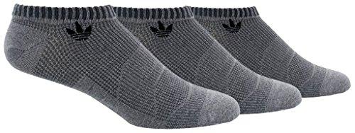 Preisvergleich Produktbild Agron Socken Herren Originals Prime Mesh 3 Pack No Show Socken,  Herren,  Grey Marl / Onix / Black,  Size 6-12