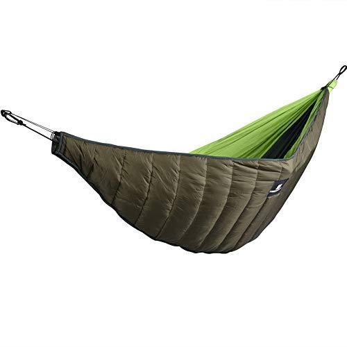 YGQersh Hamac Camping en Plein air Hiver épaissir Couverture de Couette Coton Chaud Coupe-Vent - Vert