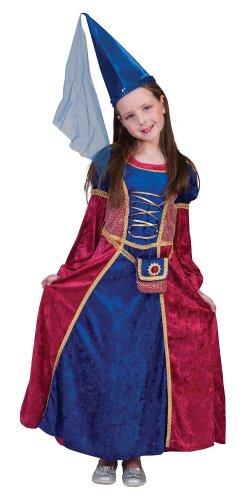 Preisvergleich Produktbild Burgfräulein Isabella Kinder Kostüm Gr. 116