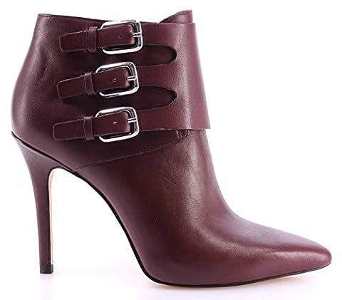 Damen Stiefeletten Schuhe Pumps MICHAEL KORS Prudence Bootie Merlot Leather Neue