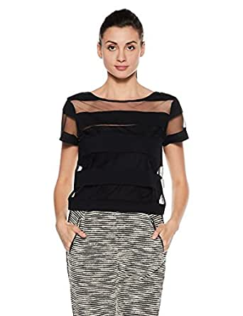 Reebok Women's Striped T-Shirt