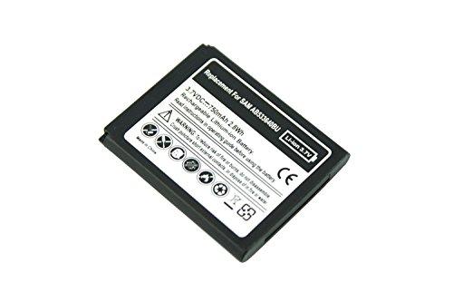 PowerSmart® 750mAh Akku für Samsung E740, GT-S7350, GT-S7350C, GT-S7350H, GT-S7350i, GT-S8300C, GT-S8300H, J200, S7350, S7350 Ultra Slide, S8300 Ultra Touch, S8300H, SGH-j750, Z170