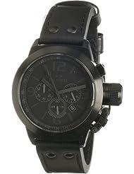 TW Steel Unisex-Armbanduhr  Canteen StyleCool Black TW-843