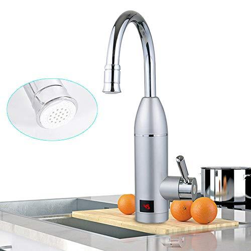 3000W Elektrisch Durchlauferhitzer Neu Wasserhahn Sofort Warm Waschtisch Küche