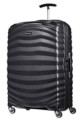 Samsonite Lite-Shock - Spinner L Koffer, 75 cm, 98.5 L, schwarz (Black)
