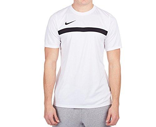 hot sale online 3fd03 10ea7 Nike Academy16 SS Top Camiseta, Hombre, Blanco Negro (White Black