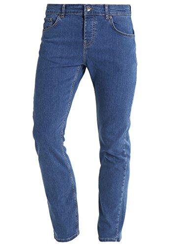 Preisvergleich Produktbild YOURTURN Herren Jeans Hose Denim in Blau - Jeanshosen Straight Leg mit Baumwolle & Stretch, 31x32
