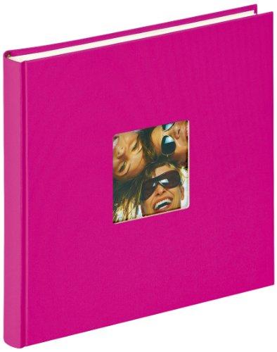 walther-design-fa-205-q-album-de-fotos-fun-26-x-25-cm-40-paginas-blancas-rosa-con-el-corte-per-un-fo