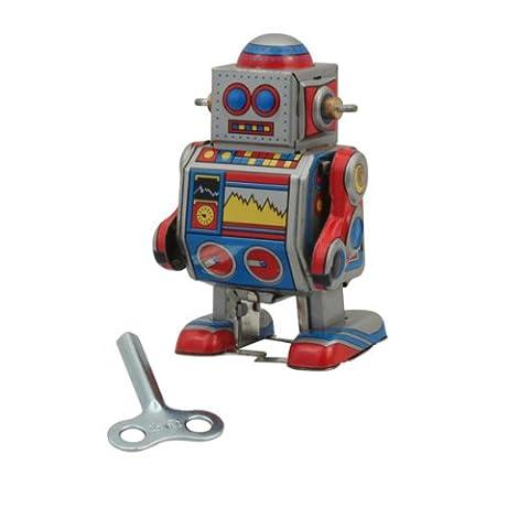 """Superfreak® Blechroboter°Blechspielzeug°Roboter aus Blech°Größe S """"Kleiner Roboter"""""""