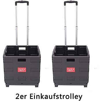 dxp transport trolley klappbar bis 35kg einkaufstrolley einkaufswagen klappbox transportwagen. Black Bedroom Furniture Sets. Home Design Ideas