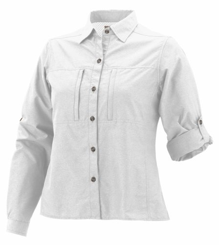 exofficio dryflylite Long Sleeve Shirt weiß