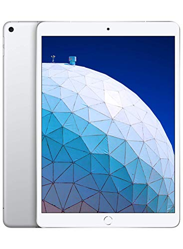 Apple iPad Air (de 10,5 pulgadas y 64 GB con Wi-Fi + Cellular) - Plata (Ultimo Modelo)
