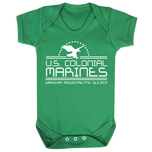 Alien US Colonial Marines Baby Grow Short ()