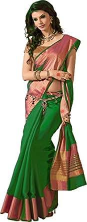 Vivera Saree (Green)