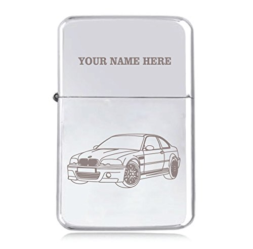 BMW 3 Design–personalisierbares Star Benzin-Feuerzeug, winddicht