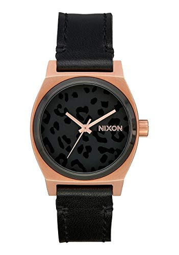 Nixon Unisex Adult Analogue Quartz Watch with Leather Strap A1172-3003-00