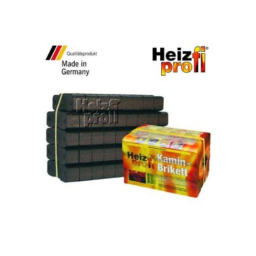 25 kg - HeizProfi Premium Kaminbrikett (0,49 Euro/kg)