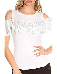 Suchergebnis auf Amazon.de für  tshirt mit strass - KouCla  Bekleidung 7ecf7e9c1c
