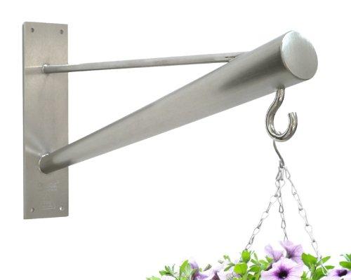 Ht-wandhalterung (Braax Hangtec Konus HT - 4A09, Edelstahl, Wandhalterungen für Hängekörbe, Vogelhäuser, Buchsbaum-Kugel, Lampen, Laternen, wind chimes oder ähnlichen)