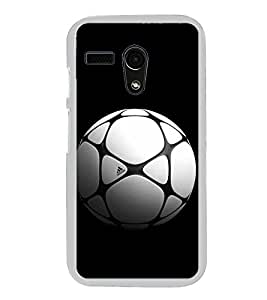 Football 2D Hard Polycarbonate Designer Back Case Cover for Moto G Turbo Edition :: Moto G Turbo (Virat Kohli Edition)