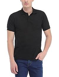 Trendy Trotters Black Polo Cotton T-Shirt