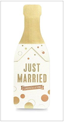 my design co Champagne Cracker Karte Pop Married
